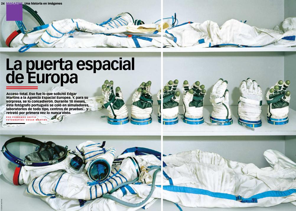 'La puerta espacial de Europa'; XL Semanal features The Rehearsal of Space
