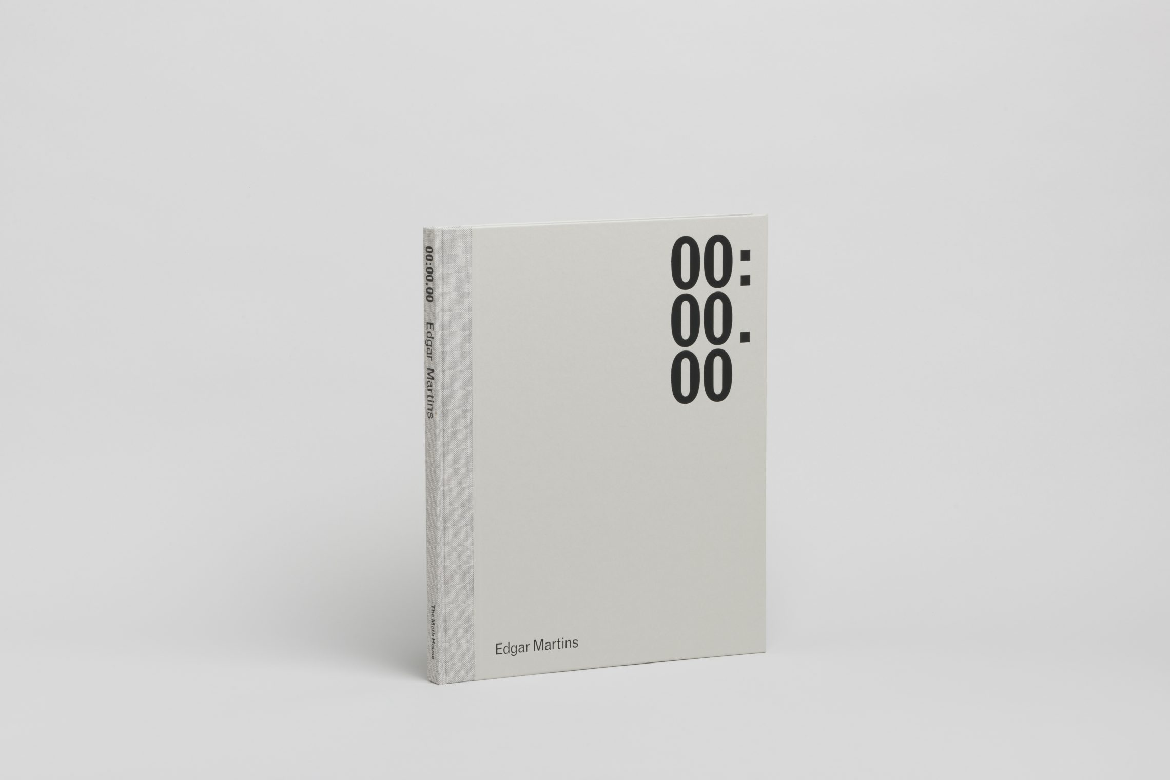 00:00.00, a forthcoming book by Edgar Martins